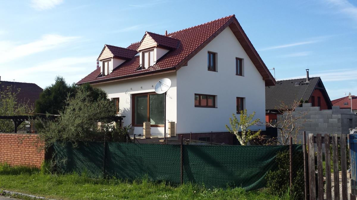 Rekonstrukce RD okál Praha r.2014-2015